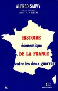 Birrascarampola.it Histoire économique de la France entre les deux guerres - Volume 1 Image