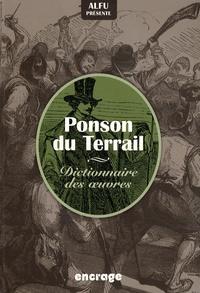 Alfu - Ponson du Terrail - Dictionnaire des oeuvres.