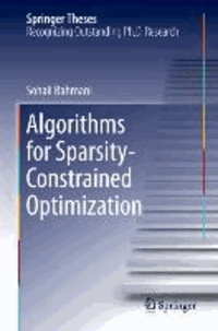 Algorithms for Sparsity-Constrained Optimization.