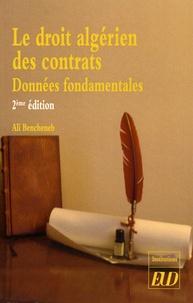 Deedr.fr Le droit algérien des contrats - Données fondamentales Image