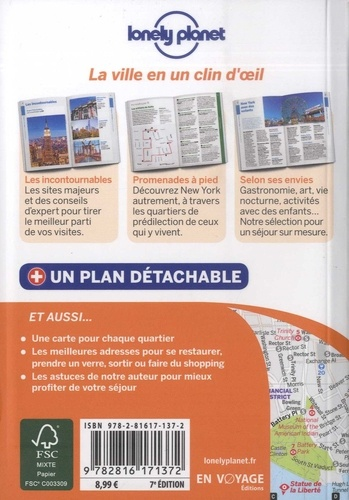 New York en quelques jours 7e édition -  avec 1 Plan détachable