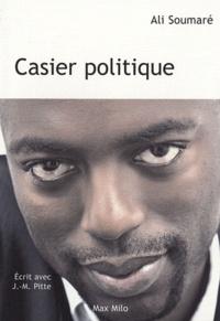 Ali Soumaré - Casier politique.