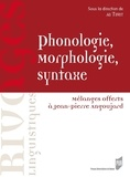 Ali Tifrit - Phonologie, morphologie, syntaxe - Mélanges offerts à Jean-Pierre Angoujard.