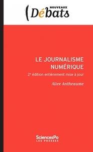 Alice Antheaume - Le journalisme numérique.