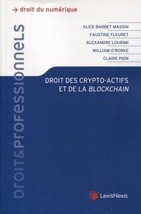 Alice Barbet-Massin et Faustine Fleuret - Droit des crypto-actifs et de la blockchain.