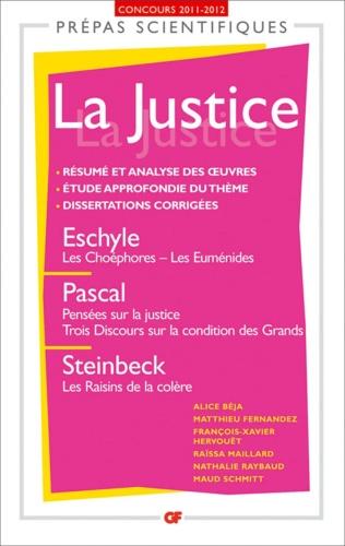 La Justice. Concours 2011-2012