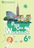 Alice Bonzom - Anglais 6e Piece of cake - Workbook.