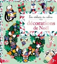 Alice de Page - Décorations de Noël - Avec 3 planches prédécoupées, 1 planche de strass, 2 planches d'autocollants, du fil et du coton.