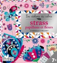 Téléchargement de livres complets Papillons et fleurs à strass  - 3 tableaux à décorer par Alice De Page (Litterature Francaise) 9782017060024