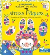 Alice de Page - Strass Pâques - Avec plus de 400 strass et autocollants brillants ! Contient : 3 tableaux, des strass et des autocollants brillants.