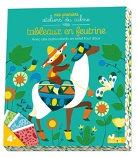 Livres audio en français téléchargeables gratuitement Tableaux en feutrine  - Avec des autocollants en relief tout doux 9782017029175 (French Edition)