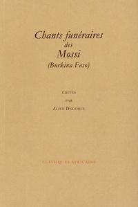 Alice Degorce - Chants funéraires des Mossi (Burkina Faso).