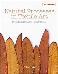 Alice Fox - Natural Processes in Textile Art - From Rust Dyeing to Found Objects.