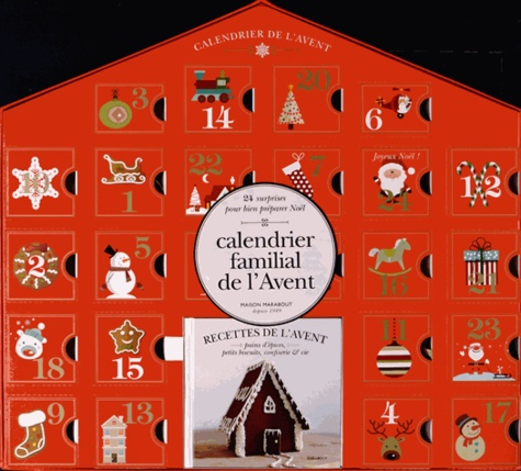 Alice Hart - Calendrier familial de l'Avent - 24 surprises pour bien préparer Noël.