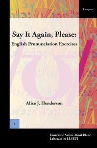 Alice Henderson - Say It Again, Please: English Pronunciation Exercises.