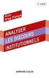 Alice Krieg-Planque - Analyser les discours institutionnels.