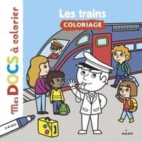 Alice Le Hénand et  Solenne - Les trains.