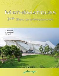 Alice Masounave et Lionel Montmasson - Mathématiques 1re BAC professionnel.