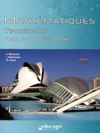 Alice Masounave et Lionel Montmasson - Mathématiques Tle Bac professionnel.