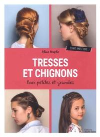 Alice Peuple - Tresses et chignons - Etape par étape.
