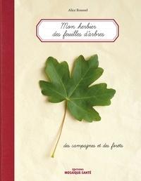 Alice Roussel - Mon herbier des feuilles d'arbres, des campagnes et des forêts.