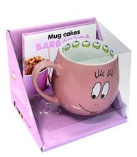 Accentsonline.fr Coffret mug cakes Barbapapa - Contient 1 livre, 1 mug et 1 carnet Image