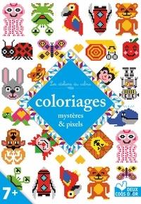 Alice Turquois - Coloriages mystères & pixels.