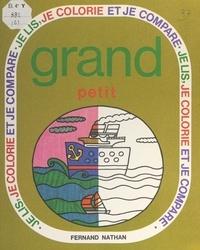 Alice Voillereau et Davis Grebu - Grand, petit.