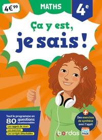 Aliette Cazes et Jean-Luc Romet - Maths 4e Ca y est, je sais !.