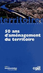 Aliette Delamarre et Claude Lacour - 50 ans d'aménagement du territoire.