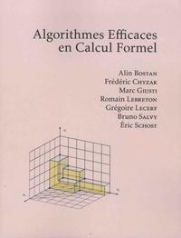 Alin Bostan et Frédéric Chyzak - Algorithmes efficaces en calcul formel.