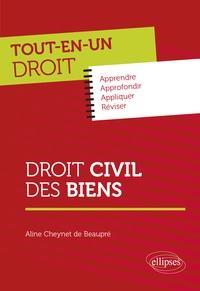 Aline Cheynet de Beaupré - Droit civil des biens.