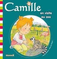 Aline de Pétigny et Nancy Delvaux - Camille en visite au zoo.