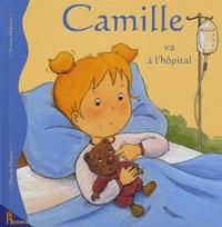 Aline de Pétigny et Nancy Delvaux - Camille va à l'hôpital.