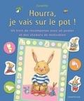 Aline de Pétigny et Clara Suetens - Hourra, je vais sur le pot ! - Un livre de récompense avec un poster et des stickers de motivation.