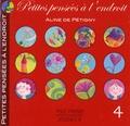 Aline de Pétigny - Petites pensées à l'endroit - Tome 4.