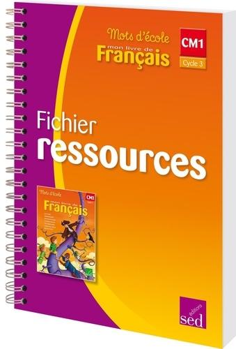 Mon Livre De Francais Cm1 Cycle 3 Fichier Ressources Grand Format