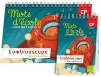 Aline Delaporte et Aline El Adrham - Mots d'école, j'apprends à lire au CP Cycle 2 - Combinoscope (sons voyelles, sons consonnes).