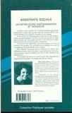 Aline Fino-Dhers - Assistante sociale - Un métier entre indétermination et technicité, une approche socio-historique.