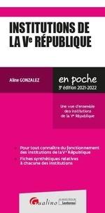 Aline Gonzalez - Institutions de la Ve République.