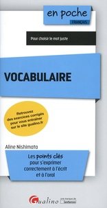 Aline Nishimata - Vocabulaire.