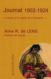 """Aline R. de Lens - Journal 1902-1924 - """"L'amour, je le supplie de m'épargner...""""."""