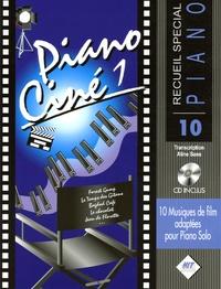 Aline Sans - Piano Ciné 1 - 10 musiques de film adaptées pour Piano Solo. 1 CD audio