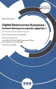 """Aline Scouarnec - Digital Ressources Humaines : comment développer la maturité """"digital'RH"""" ? - Les innovations RH de la filière alimentaire."""