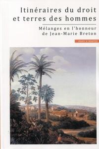 Alioune Fall - Itinéraires du droit et terres des hommes - Mélanges en l'honneur de Jean-Marie Breton.