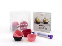 Alisa Morov - Mon kit cupcakes - Un livre + 10 moules + un crayon de décor.
