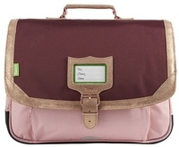 ALISEO TANN'S - Cartable 38 cm Tanns Palermo Bordeaux/rose
