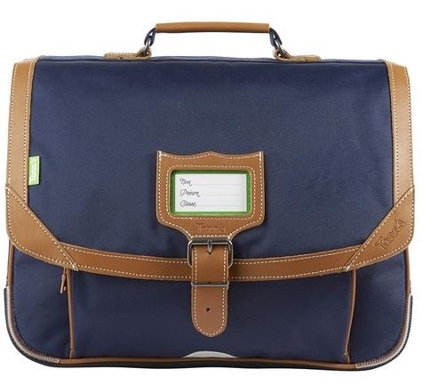 ALISEO TANN'S - Cartable Tann's Classic bleu marine - 38cm