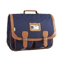 ALISEO TANN'S - Cartable Tann's Classic bleu marine - 41cm