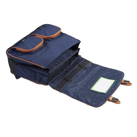 Cartable Tann's Classic bleu marine - 41cm